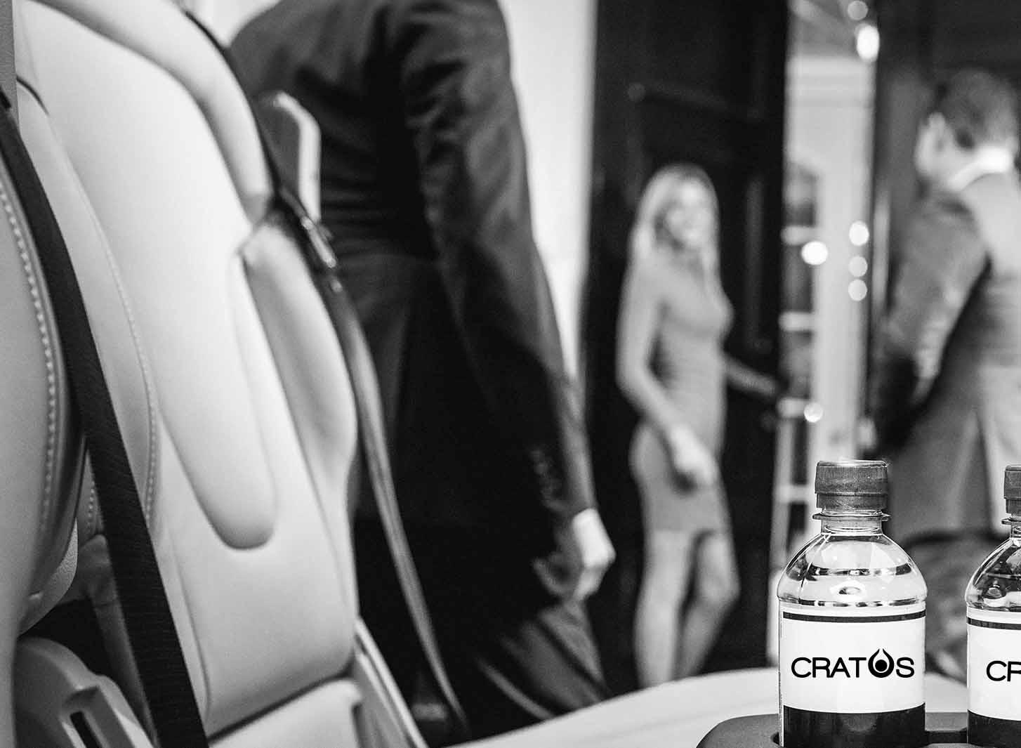 Cratos chauffeursdiensten - extra service